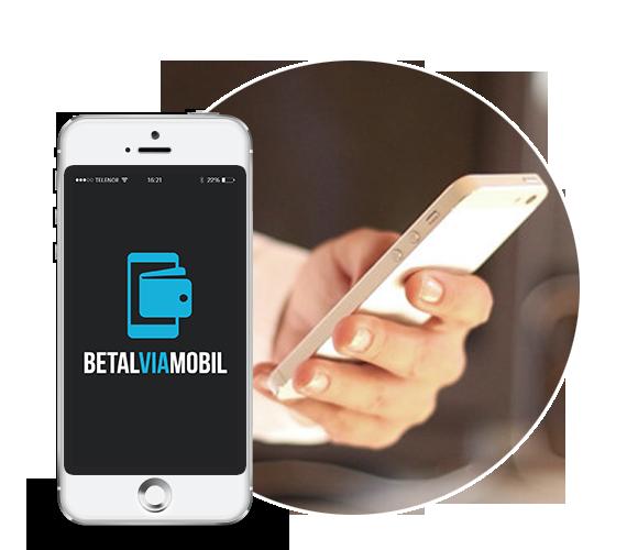 Betal via mobil